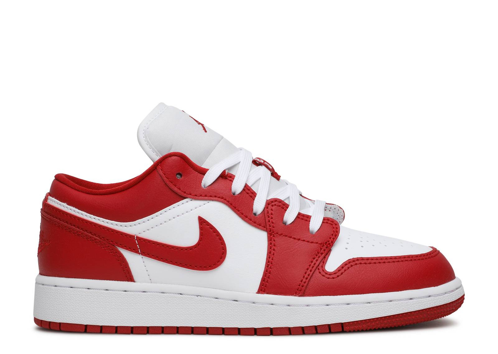 AIR JORDAN 1 LOW GYM RED WHITE (GS) image 1