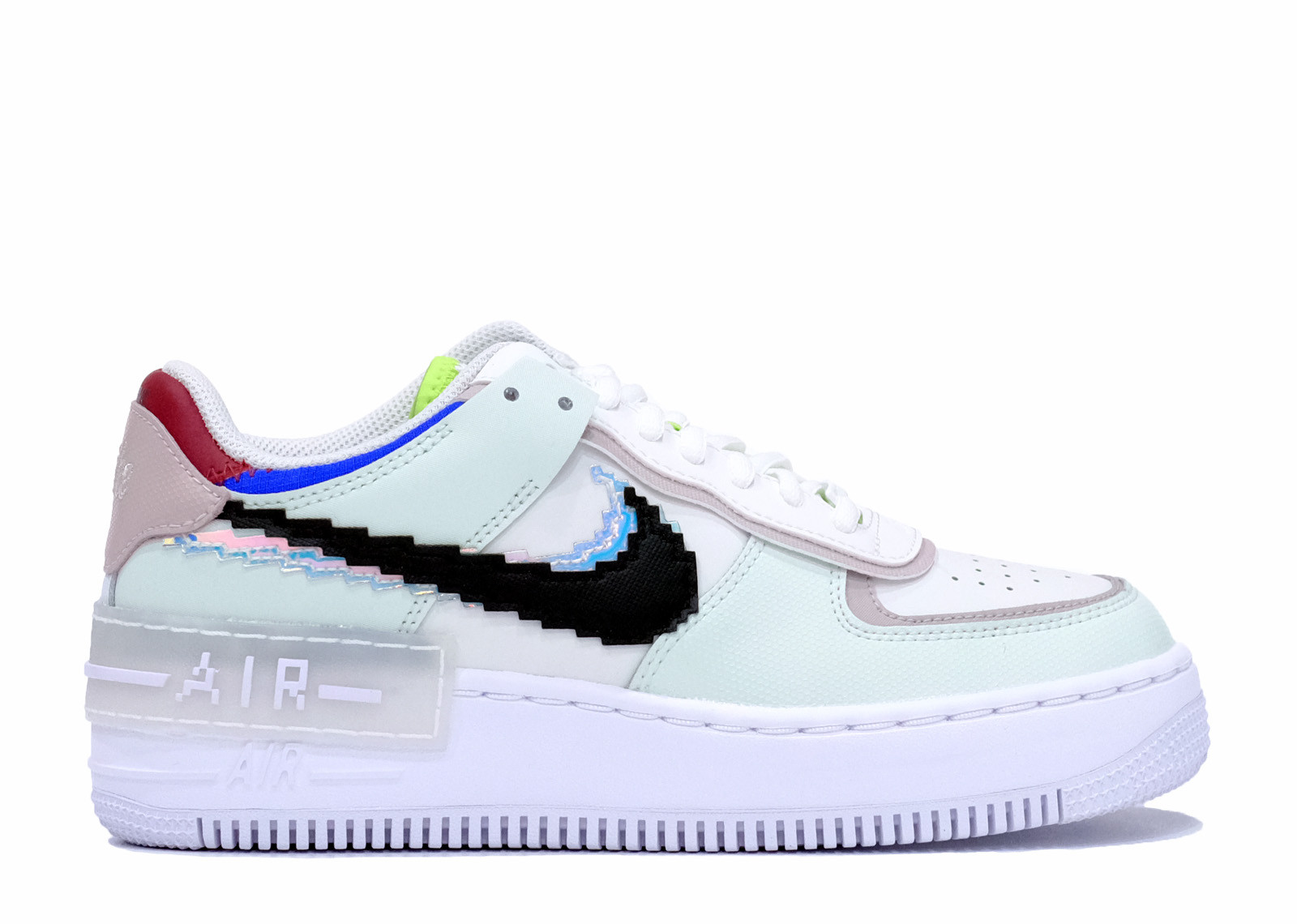 AIR FORCE 1 SHADOW SE PIXEL SWOOSH BARELY GREEN image 1