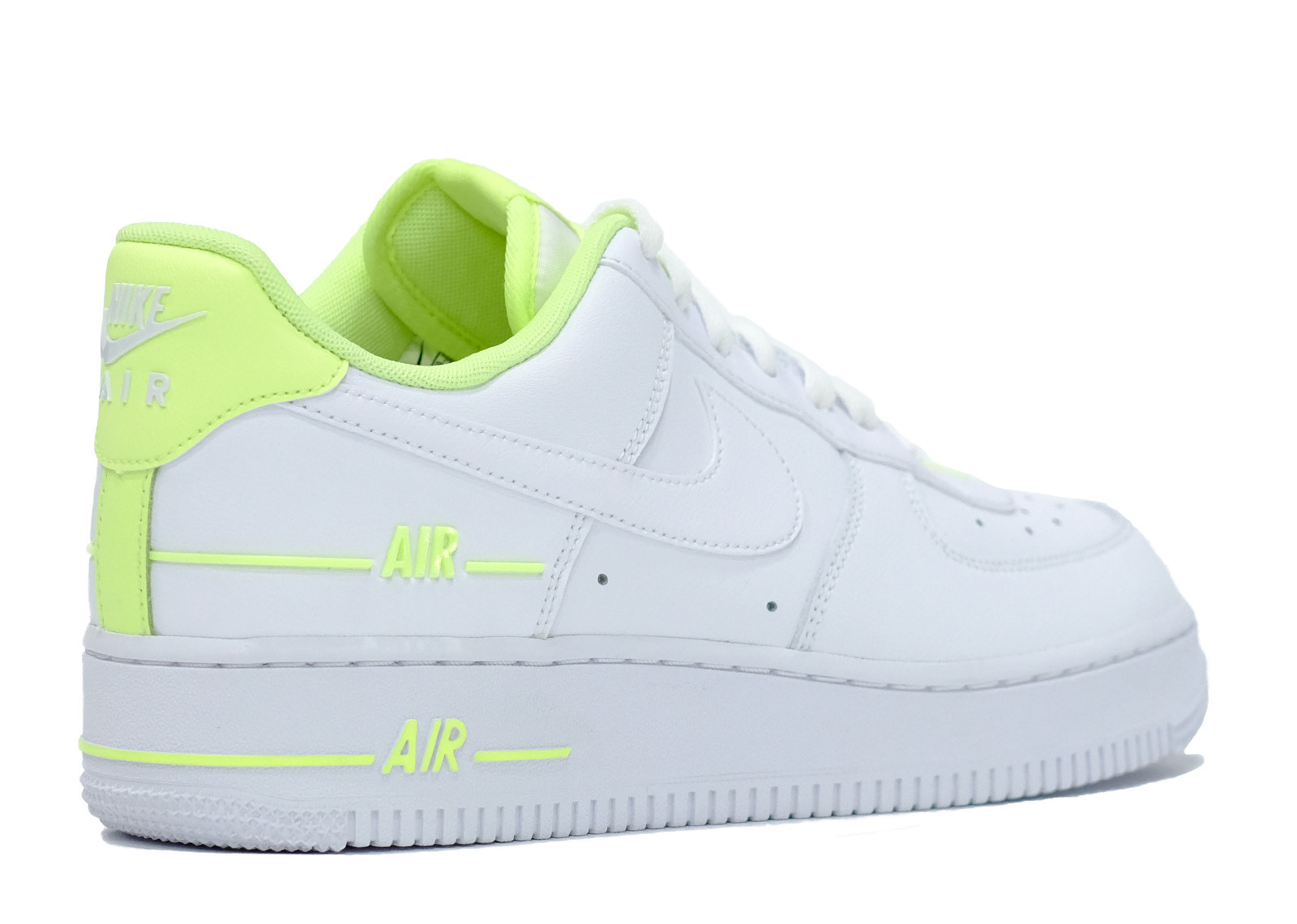AIR FORCE 1 LOW DOUBLE AIR WHITE BARELY VOLT image 3