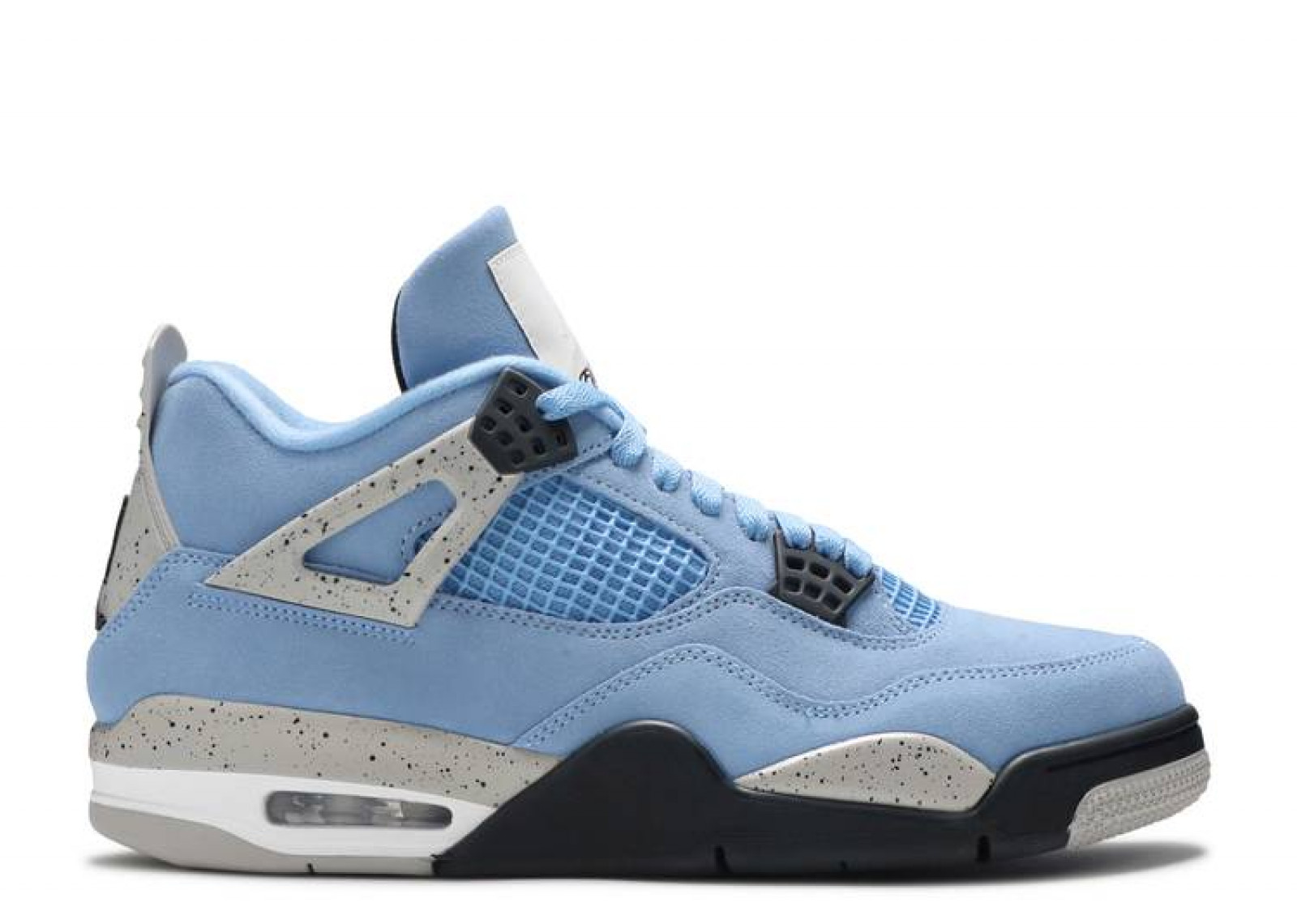 AIR JORDAN 4 RETRO UNIVERSITY BLUE image 1