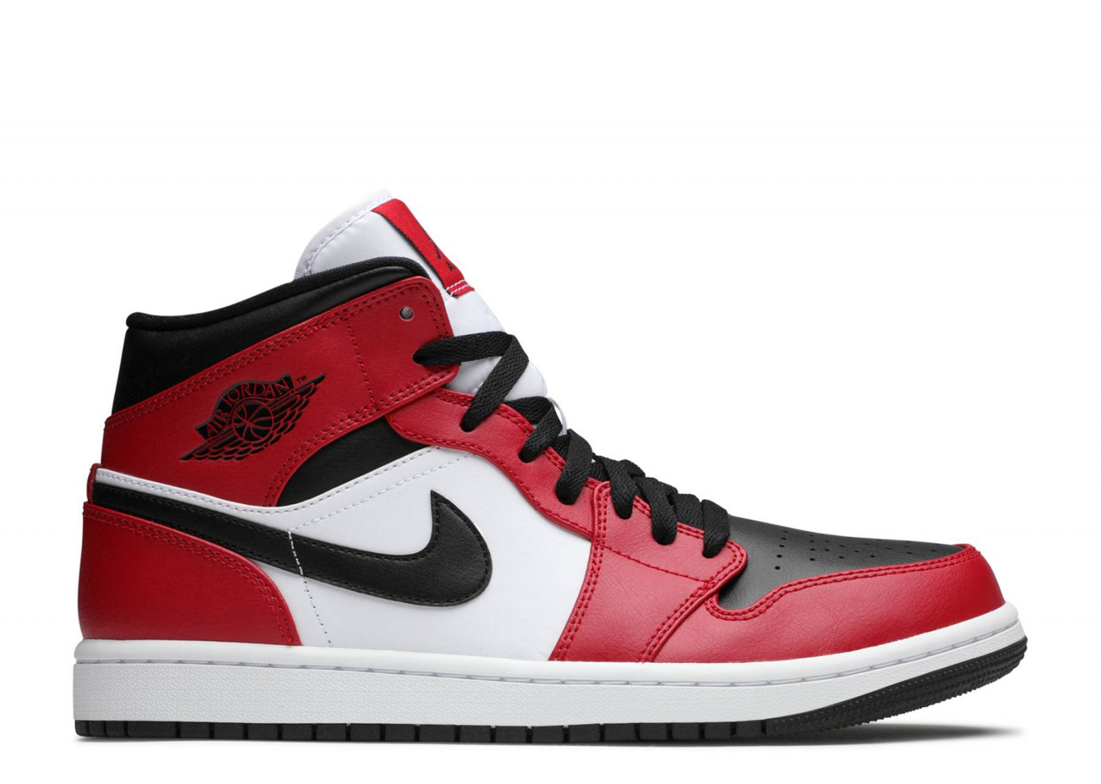 AIR JORDAN 1 MID Chicago Black Toe  image 1