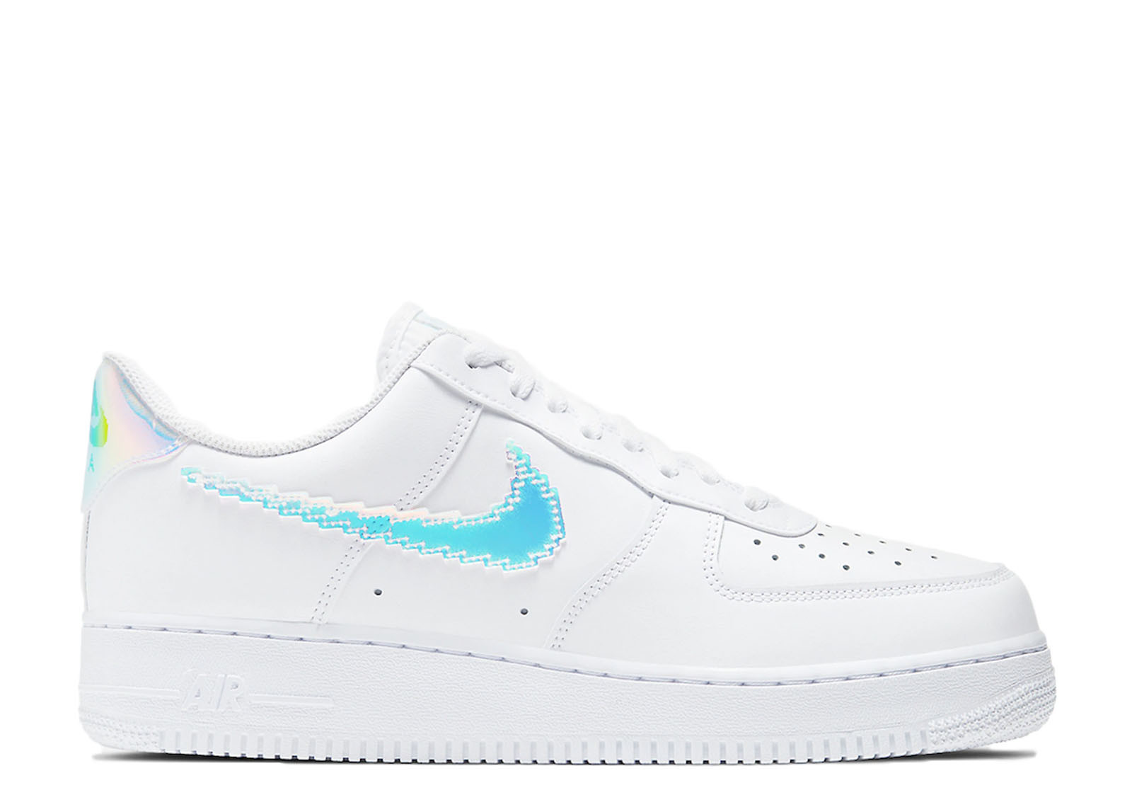 AIR FORCE 1 LOW IRIDESCENT PIXEL WHITE image 1