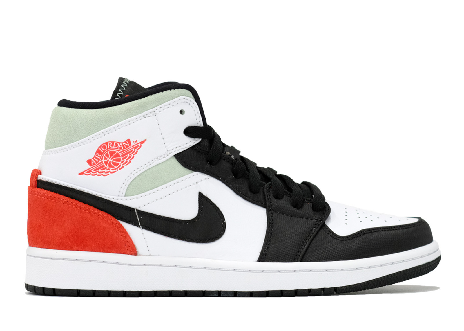 AIR JORDAN 1 MID UNION BLACK TOE image 1