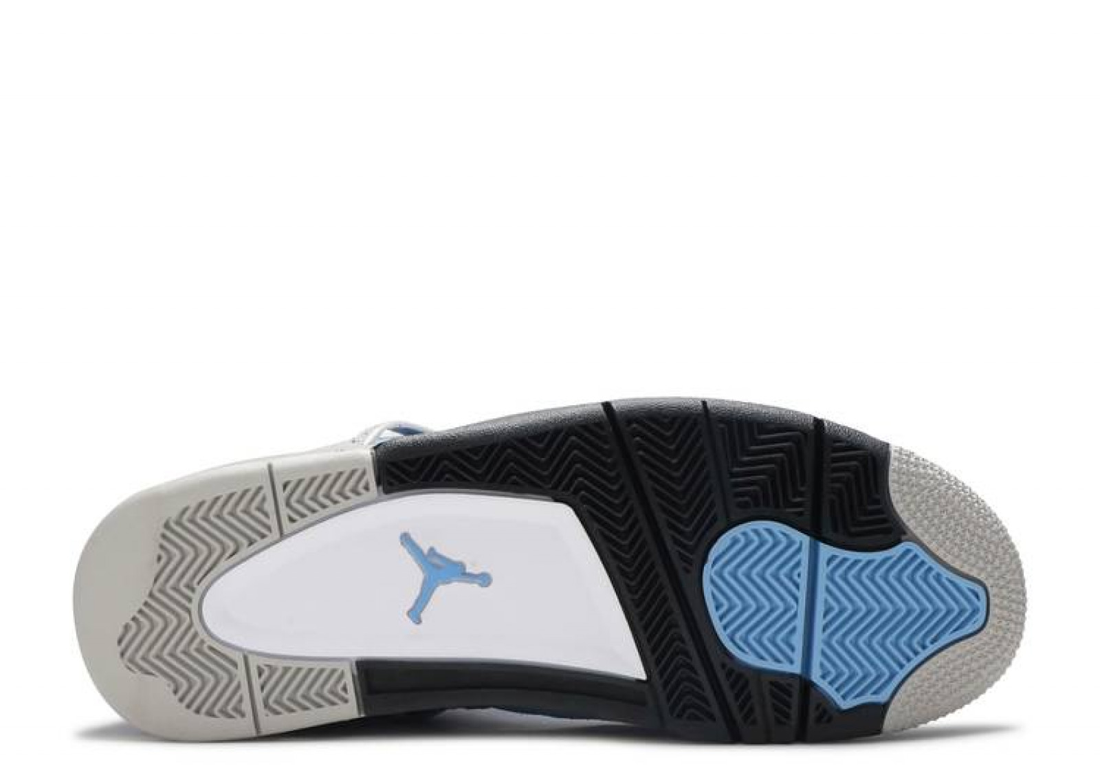 AIR JORDAN 4 RETRO UNIVERSITY BLUE image 4