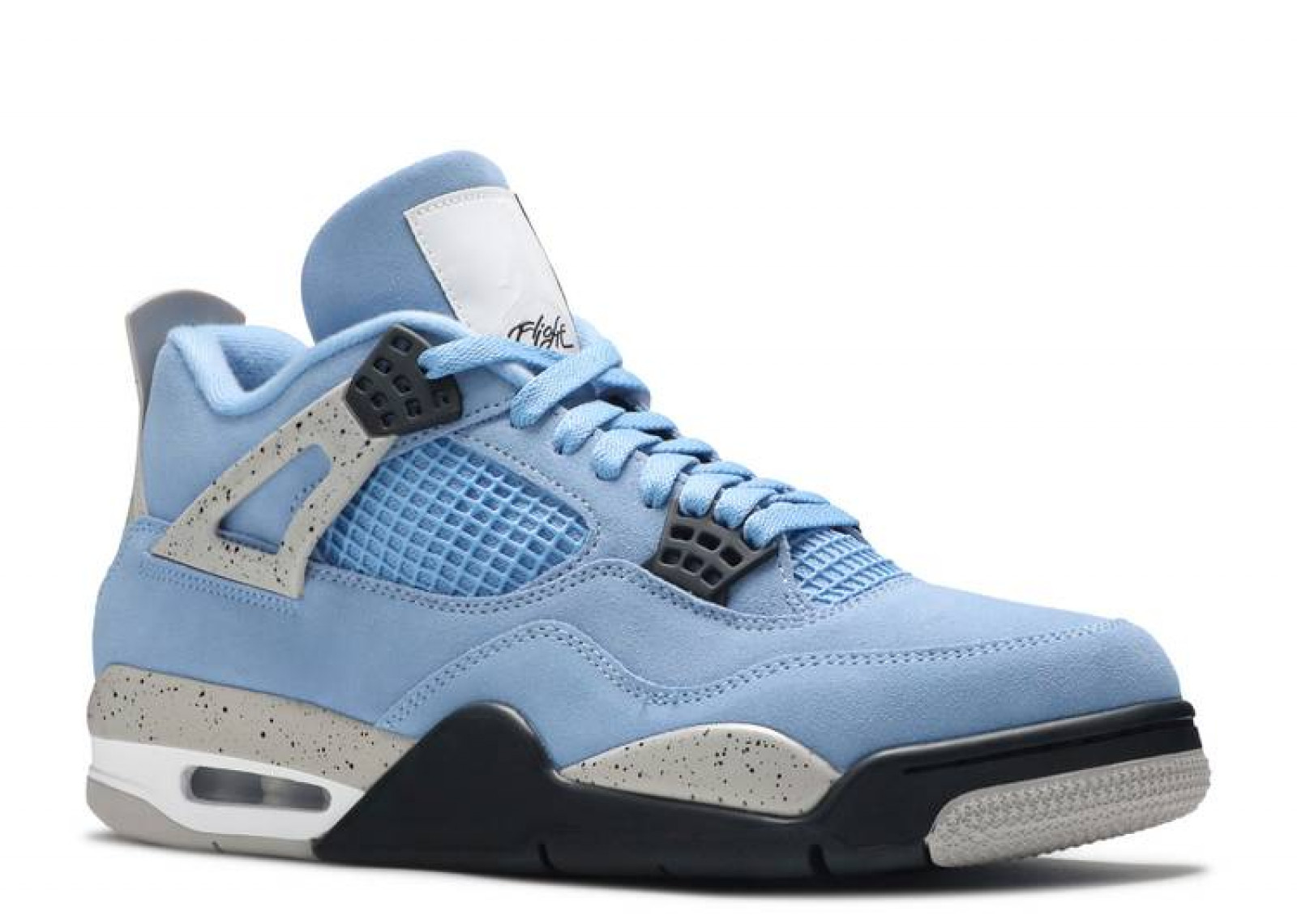 AIR JORDAN 4 RETRO UNIVERSITY BLUE image 2