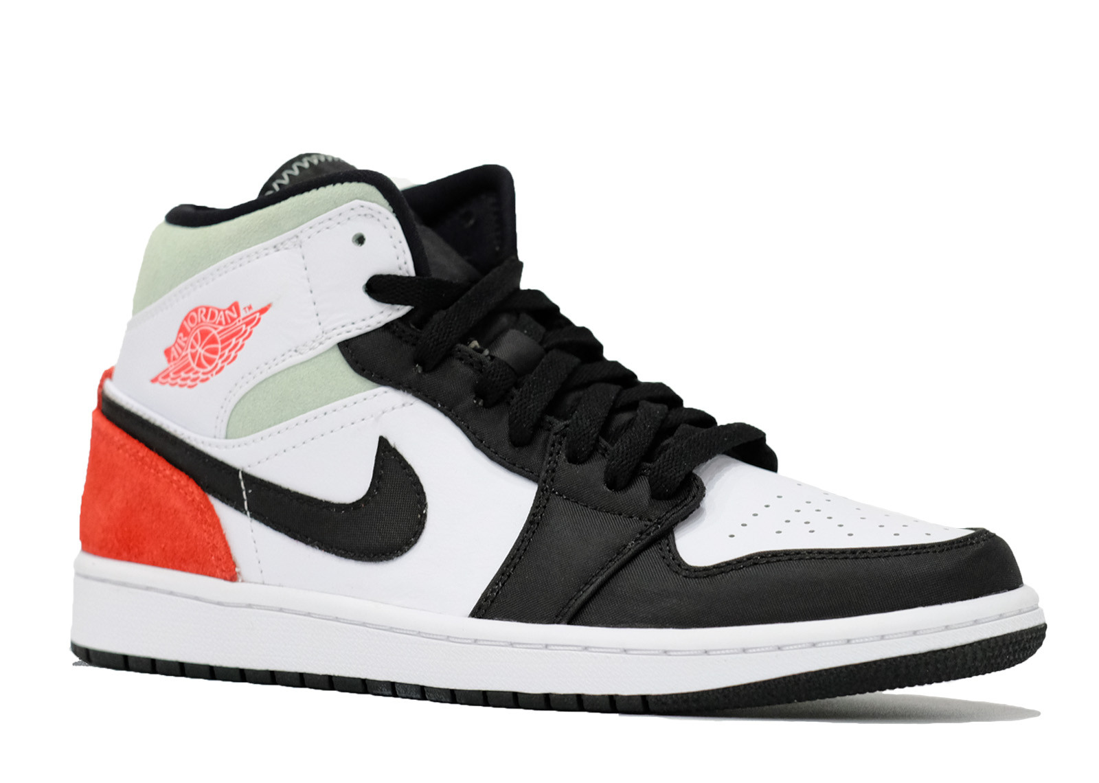 AIR JORDAN 1 MID UNION BLACK TOE image 2