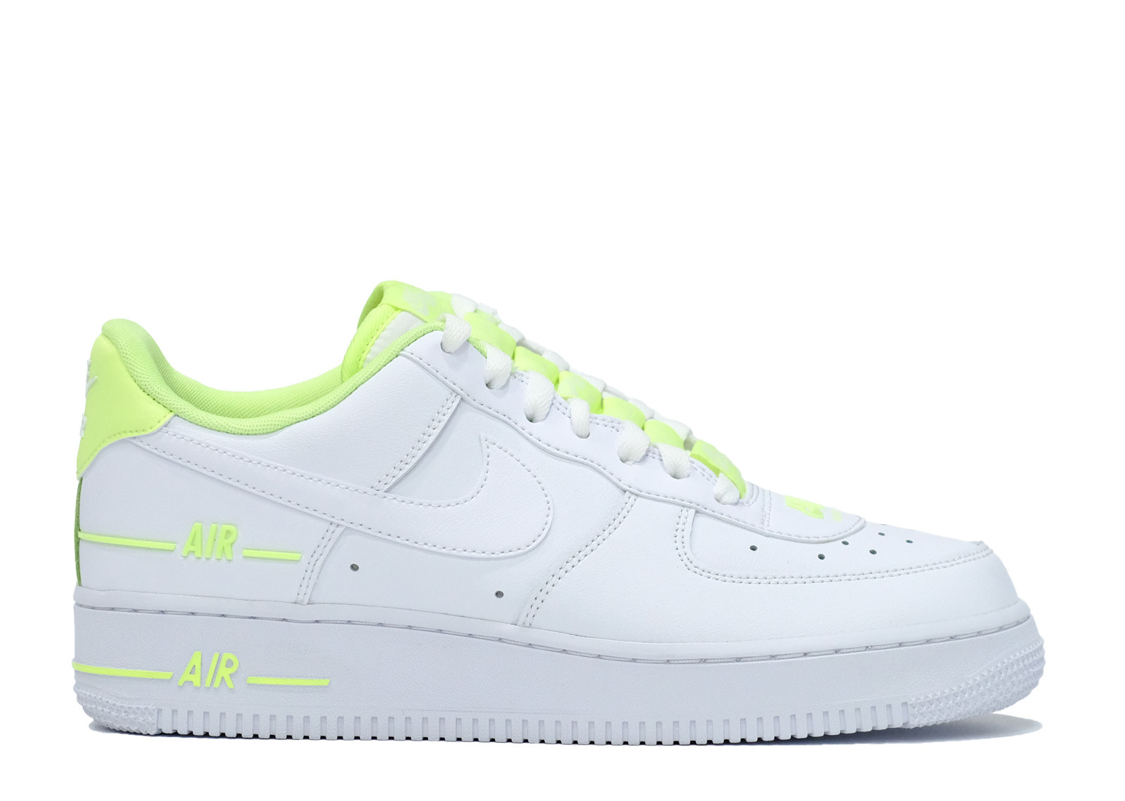 AIR FORCE 1 LOW DOUBLE AIR WHITE BARELY VOLT image 1