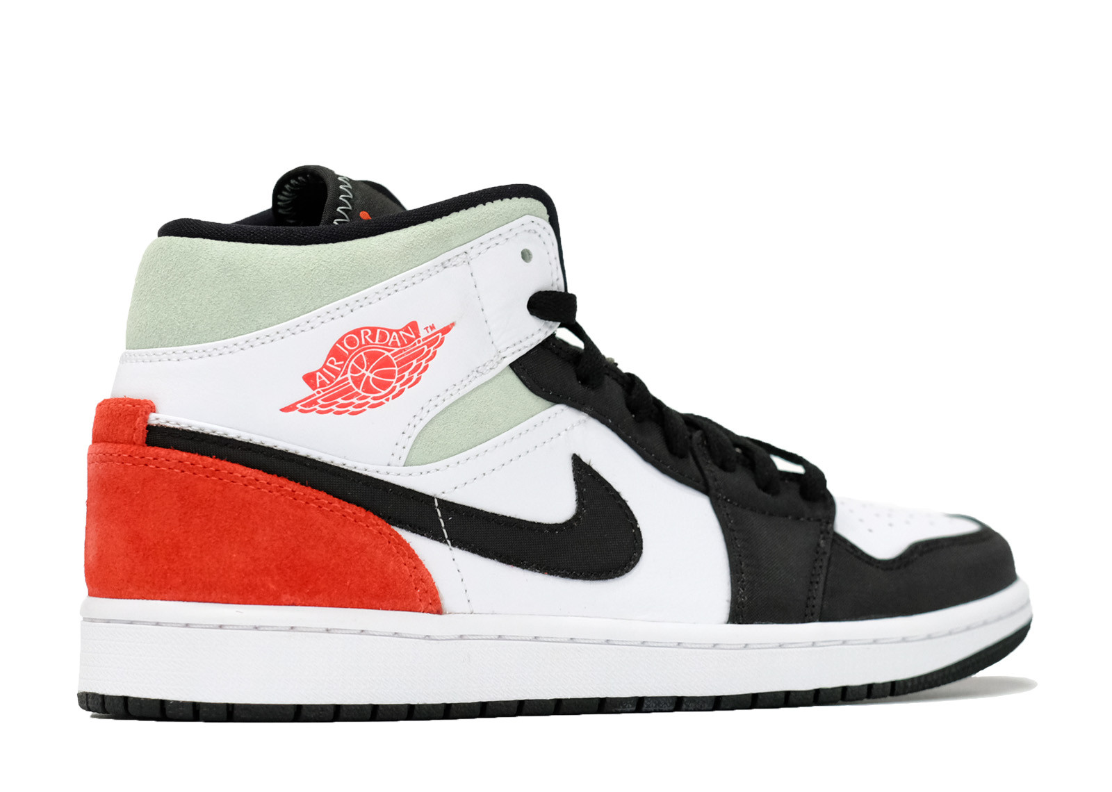 AIR JORDAN 1 MID UNION BLACK TOE image 3