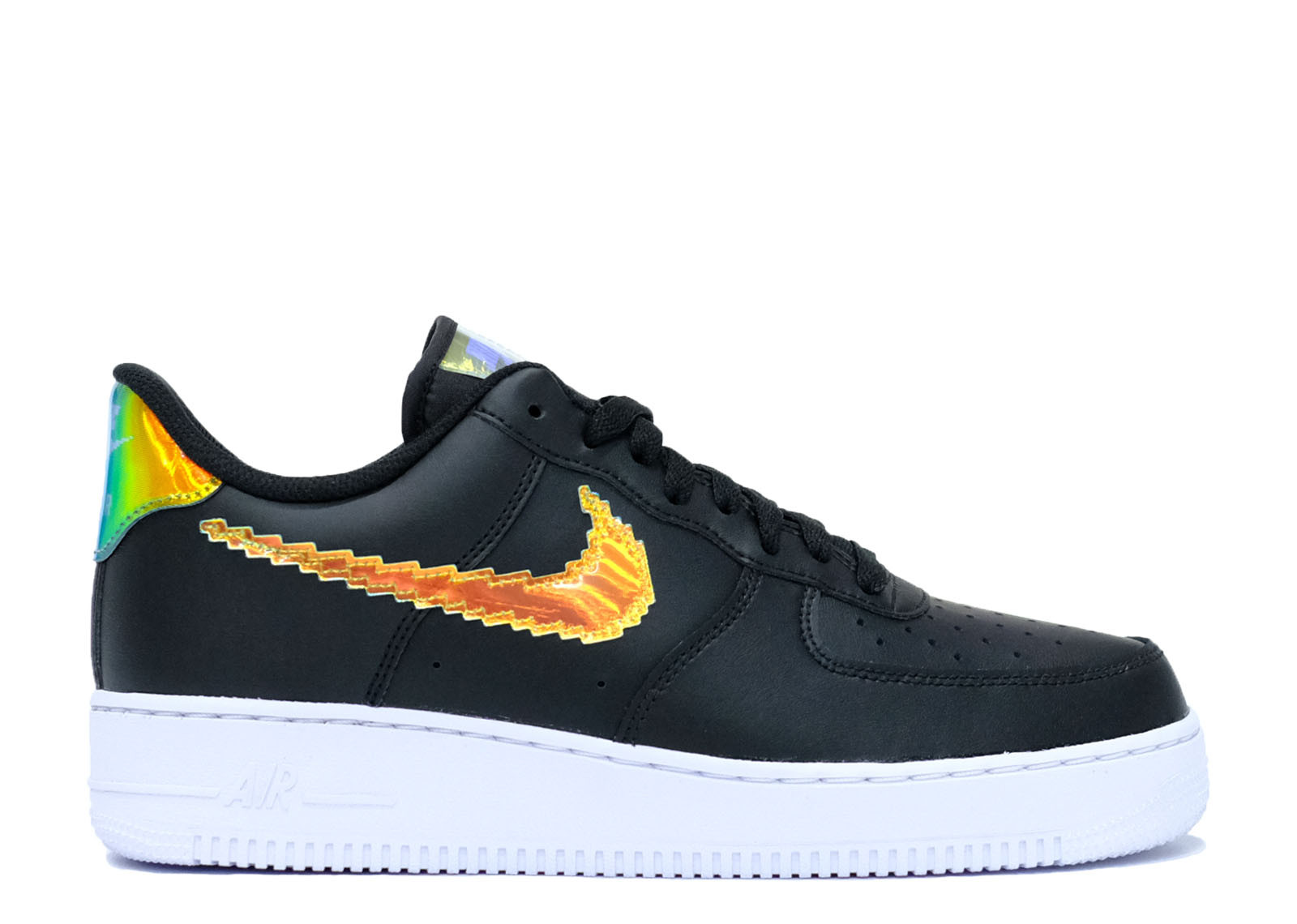 AIR FORCE 1 LOW IRIDESCENT PIXEL BLACK image 1