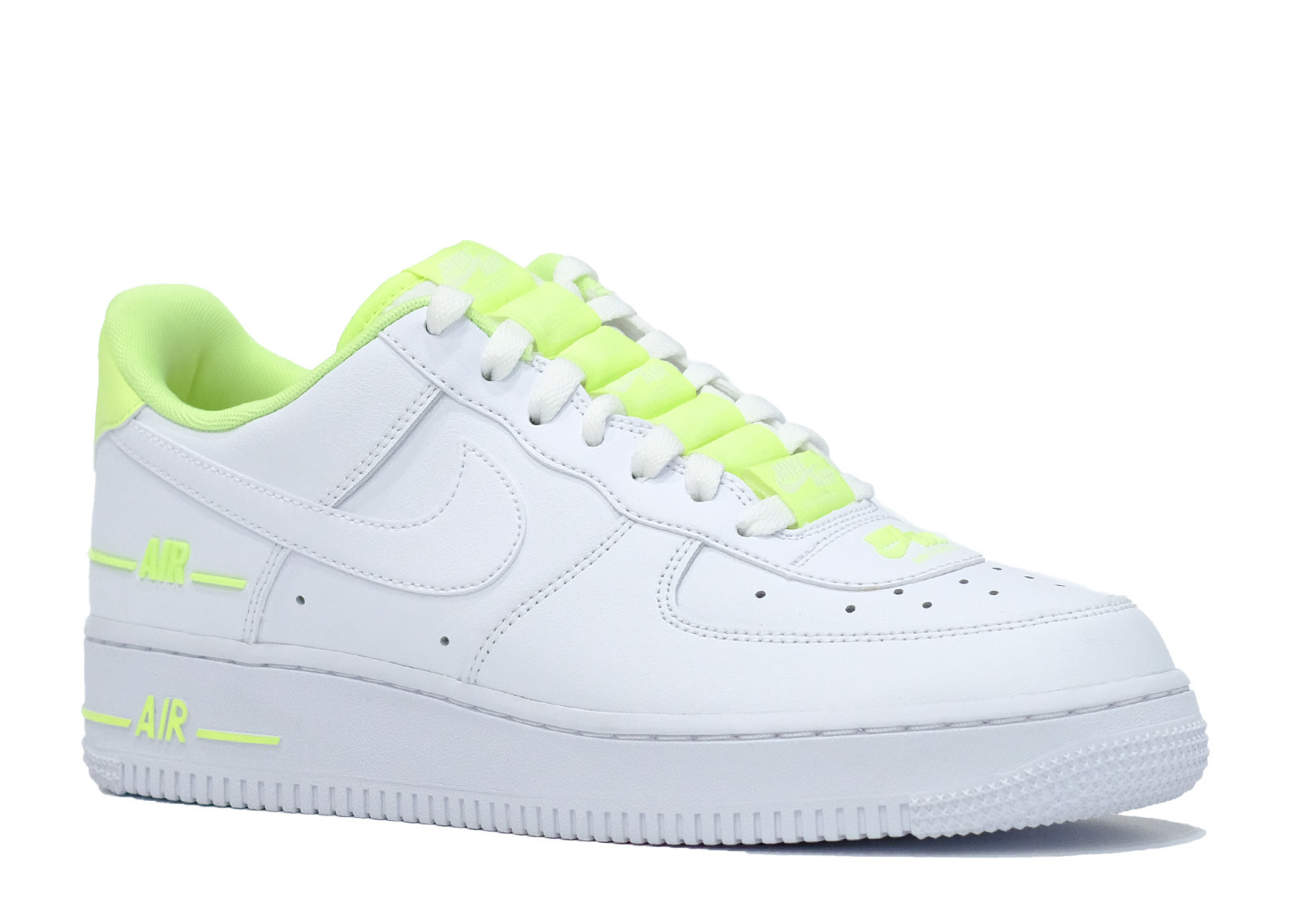 AIR FORCE 1 LOW DOUBLE AIR WHITE BARELY VOLT image 2