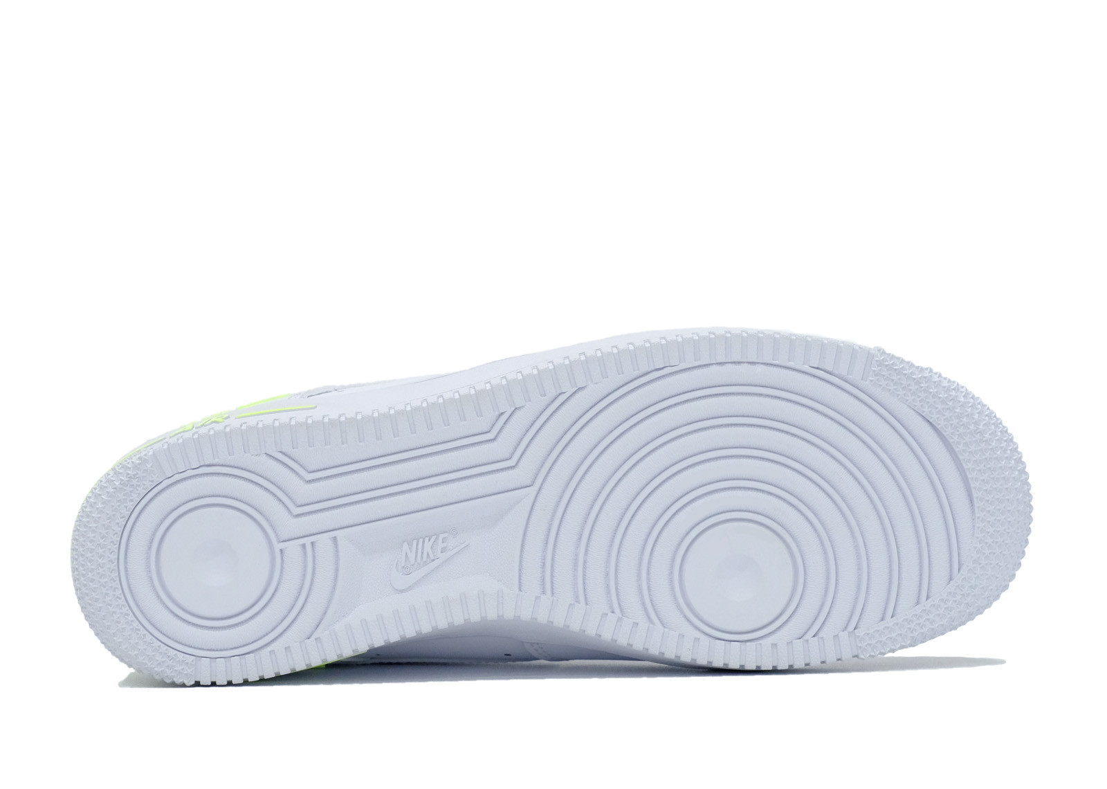 AIR FORCE 1 LOW DOUBLE AIR WHITE BARELY VOLT image 4