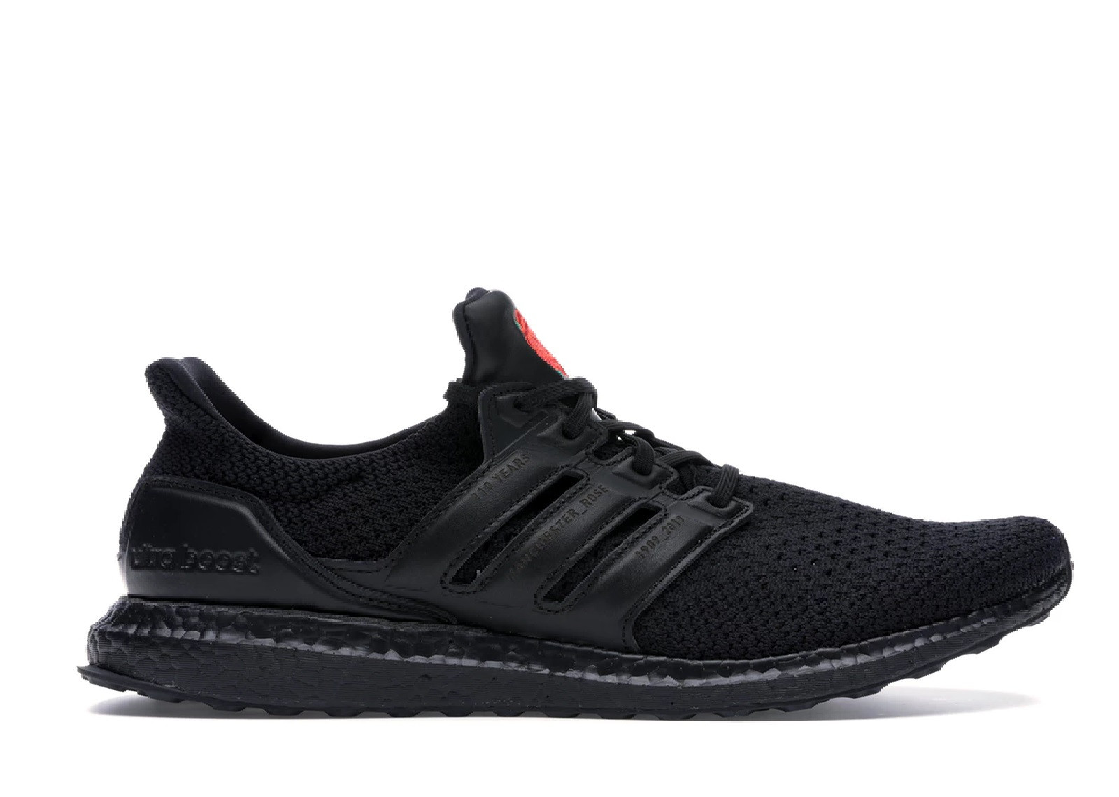 ULTRA BOOST TRIPLE BLACK MANCHESTER UNITED image 1