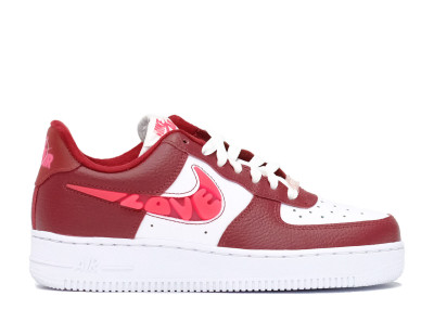 AIR FORCE 1 LOVE FOR ALL SIREN RED (W)