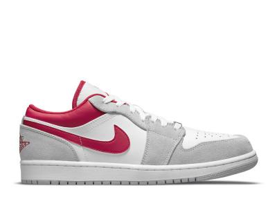 AIR JORDAN 1 LOW SE GREY RED
