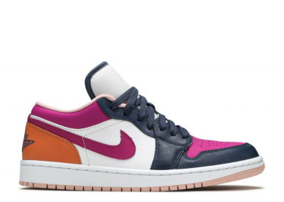 AIR JORDAN 1 LOW MISMATCHED - PURPLE MAGENTA (W)