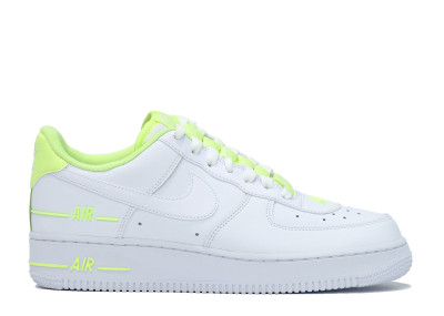 AIR FORCE 1 LOW DOUBLE AIR WHITE BARELY VOLT