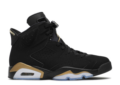 AIR JORDAN 6 RETRO DMP BLACK GOLD
