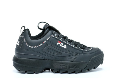 FILA DISRUPTOR II BLACK TAPE BLACK