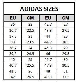 adidas ultra boost sizing